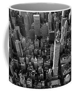 Coffee Mug featuring the photograph New York, New York 5 by Ron Cline