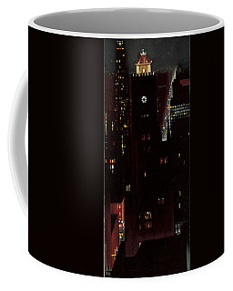 New York, Night, Coffee Mug