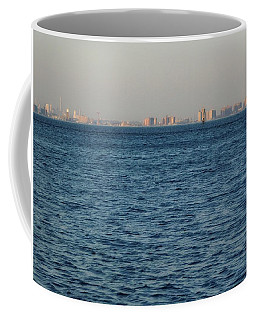 Coffee Mug featuring the photograph New York Skyline by Robbie Masso