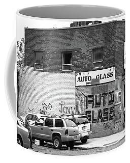Coffee Mug featuring the photograph New York Street Photography 70 by Frank Romeo