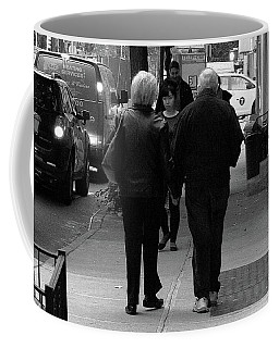 Coffee Mug featuring the photograph New York Street Photography 75 by Frank Romeo