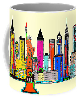 New York - The Big City Coffee Mug