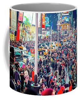 New York Times Square Coffee Mug