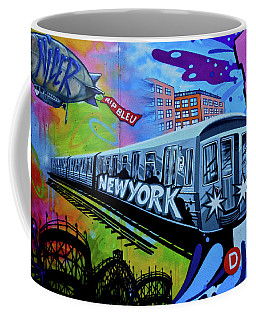 New York Train Coffee Mug
