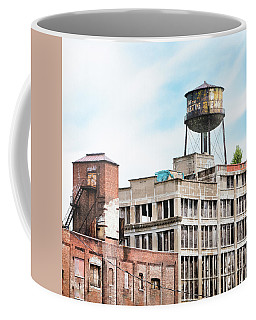 New York Water Towers 18 - Greenpoint Water Tower Coffee Mug by Gary Heller