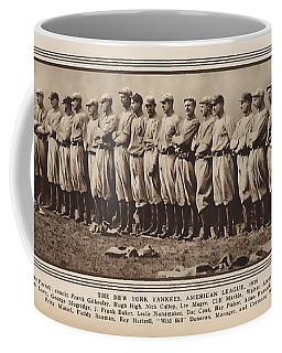 Coffee Mug featuring the photograph New York Yankees 1916 by Daniel Hagerman