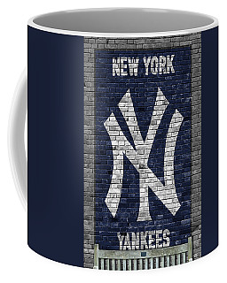 New York Yankees Brick Wall Coffee Mug