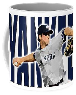 Coffee Mug featuring the digital art New York Yankees by Stephen Younts