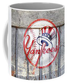 New York Yankees Top Hat Rustic 2 Coffee Mug