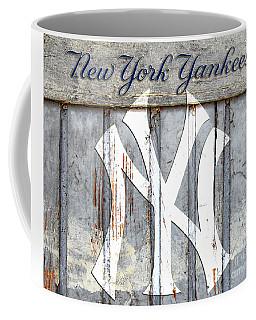 New York Yankees Rustic Coffee Mug