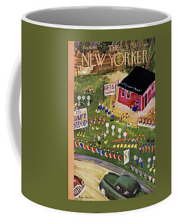 New Yorker August 18 1951 Coffee Mug