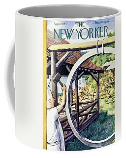 New Yorker August 22 1953 Coffee Mug