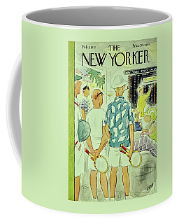New Yorker February 9 1957 Coffee Mug