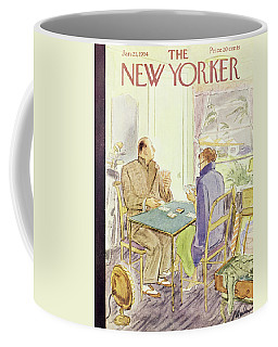 New Yorker January 23 1954 Coffee Mug