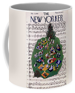 New Yorker July 23 1955 Coffee Mug