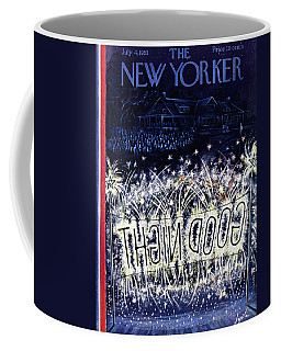 New Yorker July 4 1953 Coffee Mug