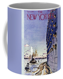 New Yorker September 8 1945 Coffee Mug