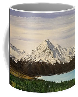 New Zealand Lake Coffee Mug