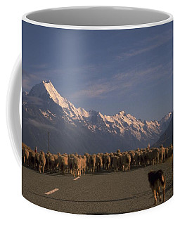 New Zealand Mt Cook Coffee Mug by Travel Pics