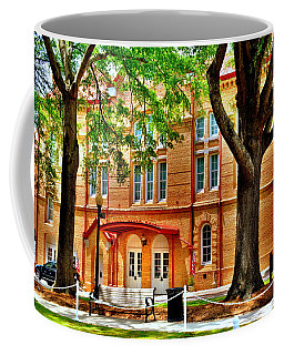 Coffee Mug featuring the photograph Newberry Opera House Newberry Sc by Lisa Wooten