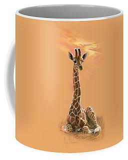 Newborn Giraffe Coffee Mug