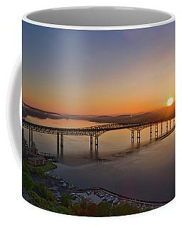 Newburgh-beacon Bridge May Sunrise Coffee Mug