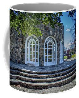Newburgh Downing Park Shelter House Side View Coffee Mug