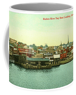 Newburgh Steamers Ferrys And River - 15 Coffee Mug