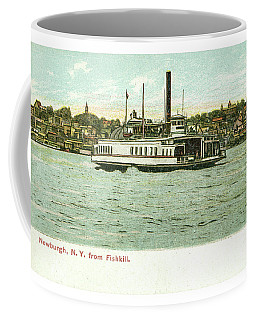 Newburgh Steamers Ferrys And River - 24 Coffee Mug