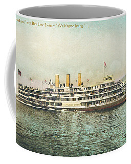 Newburgh Steamers Ferrys And River - 30 Coffee Mug