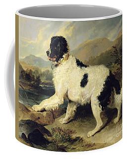 Newfoundland Dog Called Lion Coffee Mug