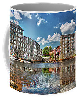Coffee Mug featuring the photograph Newmarket Mills by Wayne Marshall Chase