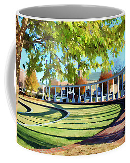 Coffee Mug featuring the photograph Newnan Park Ampitheatre by Roberta Byram