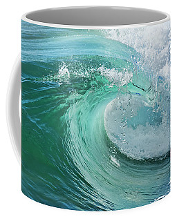 Newport Beach Wave Curl Coffee Mug