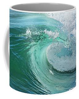 Newport Beach Wave Curl Coffee Mug