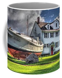 Newport Coast Guard Station Coffee Mug