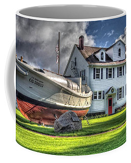 Newport Coast Guard Station Coffee Mug