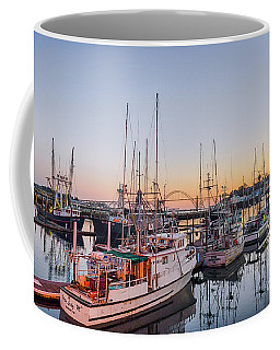 Newport Harbor At Dusk Coffee Mug