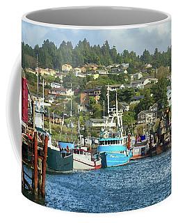 Newport Harbor Coffee Mug by James Eddy