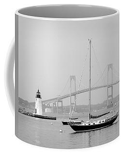 Newport, Rhode Island Serene Harbor Scene Coffee Mug