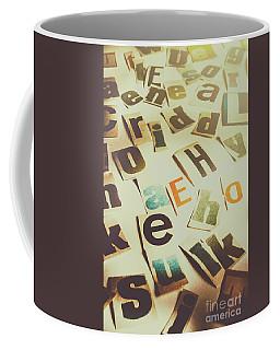 News Scramble Coffee Mug