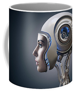Next Generation Cyborg Coffee Mug