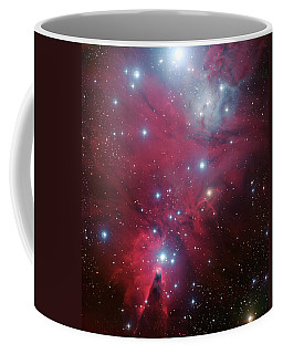 Coffee Mug featuring the photograph Ngc 2264 And The Christmas Tree Star Cluster by Eso
