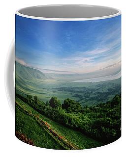 Coffee Mug featuring the photograph Ngorogoro Crater by Scott Kemper