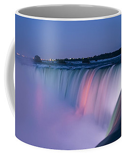 Niagara Falls At Dusk Coffee Mug