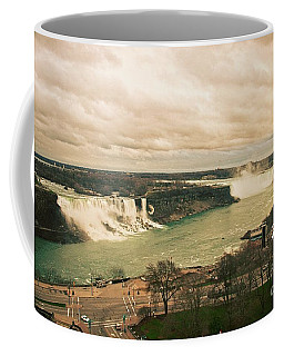 Coffee Mug featuring the photograph Niagara Falls by Mary Machare