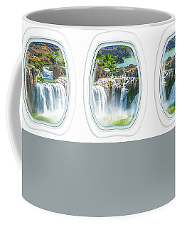 Niagara Falls Porthole Windows Coffee Mug