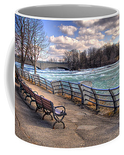 Niagara Rapids In Early Spring Coffee Mug by Tammy Wetzel