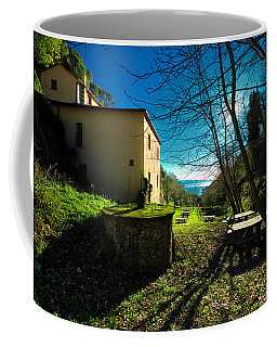 Coffee Mug featuring the photograph Niasca Hermitage I Portofino Park Passeggiate A Levante by Enrico Pelos