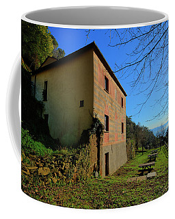 Coffee Mug featuring the photograph Niasca Hermitage II Portofino Park Passeggiate A Levante by Enrico Pelos